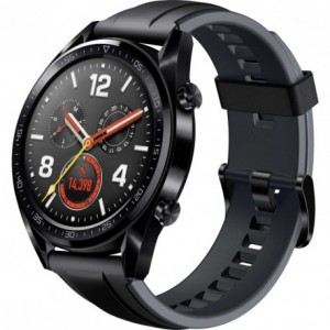 Acc. Bracelet Huawei Watch GT black leather band Acc. Bracelet Huawei Watch GT black leather band su www.GlobalWorkMobile.it ...