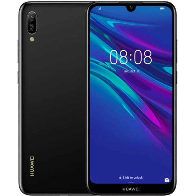 Huawei Y6 (2019) 4G 32GB 2GB RAM Dual-SIM midnight black EU Huawei Y6 (2019) 4G 32GB 2GB RAM Dual-SIM midnight black EU su ww...