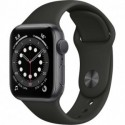 Smartwatch Apple Watch 6 44mm Space gray with Black Sport Band M00H3HC-A Smartwatch Apple Watch 6 44mm Space gray with Black ...